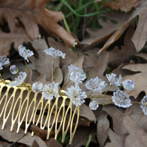 flower bridal Hair pin
