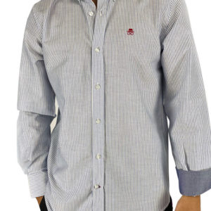 Camisa manga larga oxford rayas
