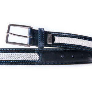 Leather belt made in spain