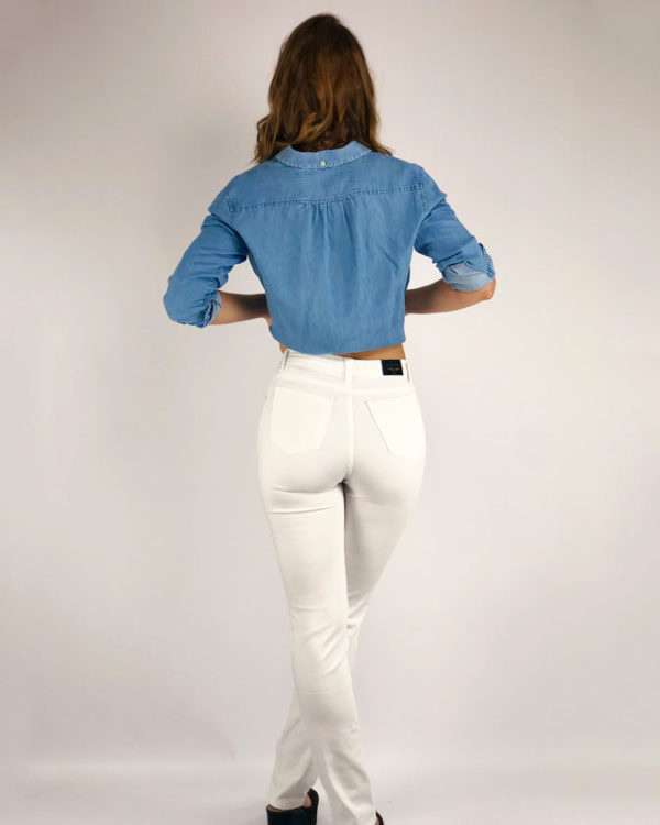 Jeans lazher´s blanco