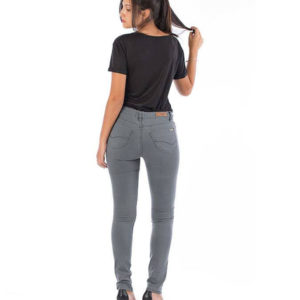 Jeans mujer Gris