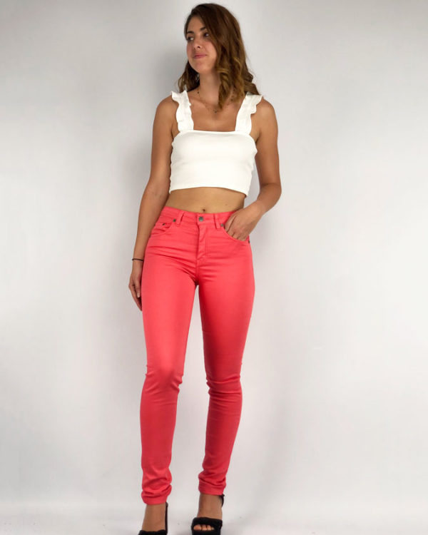 Jeans coral Lazhers