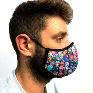 sagrapotenciano-reusable-mask-skull motifs