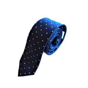 Corbata Points Blue