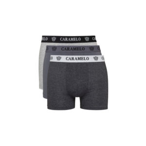 Pack Underwear Tonos Grises by Caramelo